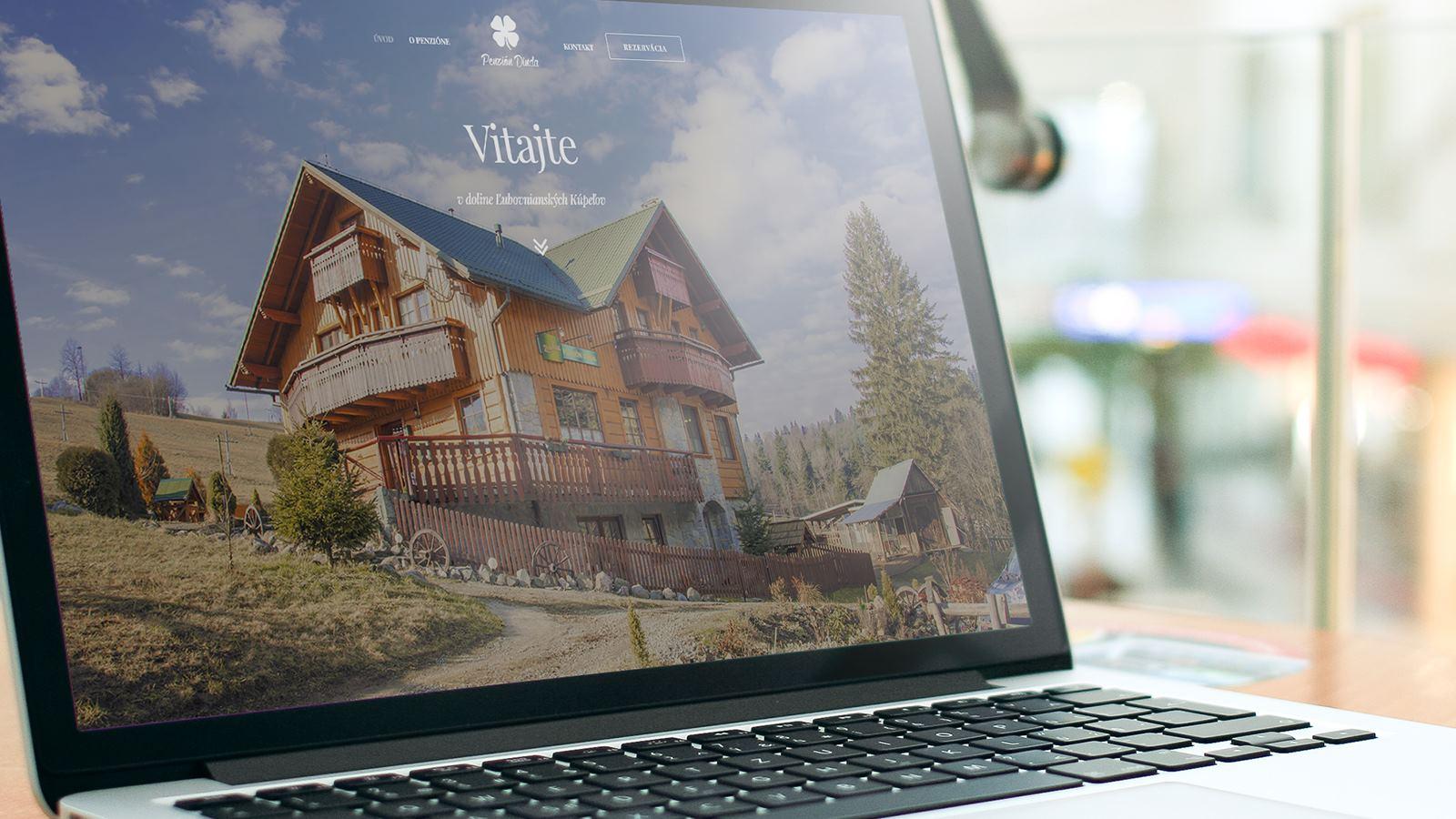 Tvorba web stránky s rezervačným systémom Penzión Dinda Strachan